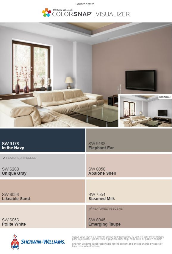 Sherwin Williams Unique Gray And Emerging Taupe