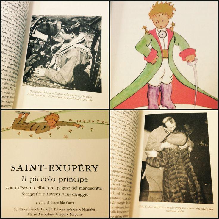 """Saint-Exupéry - Il piccolo principe Edizione Meridiani Paperback, con i disegni dell'autore, pagine del manoscritto, fotografie e """"Lettera a un ostaggio"""", a cura di Leopoldo Carra."""