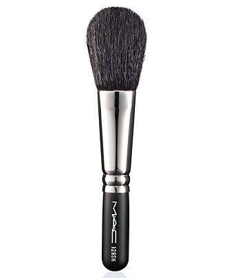 MAC blush brush 129. A bit of a shedder this brush is.