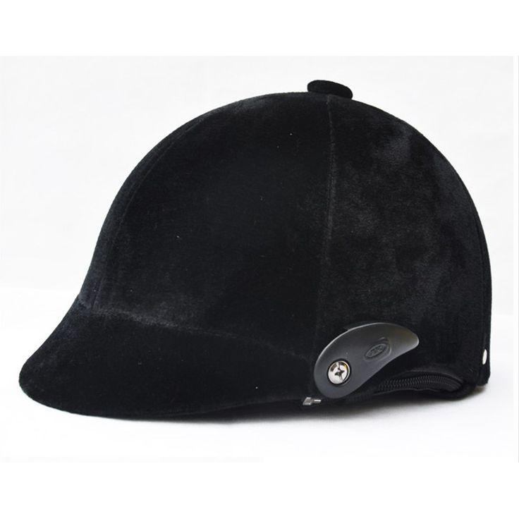 High Quality Adjustable Free Size Equestrian Horse Riding Helmet Equestrian Helmets Casco Capacete Riding Equipment Black