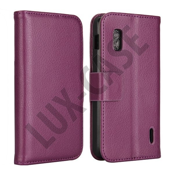 FlipStand Google Nexus 4 Leather Case (Violetti)