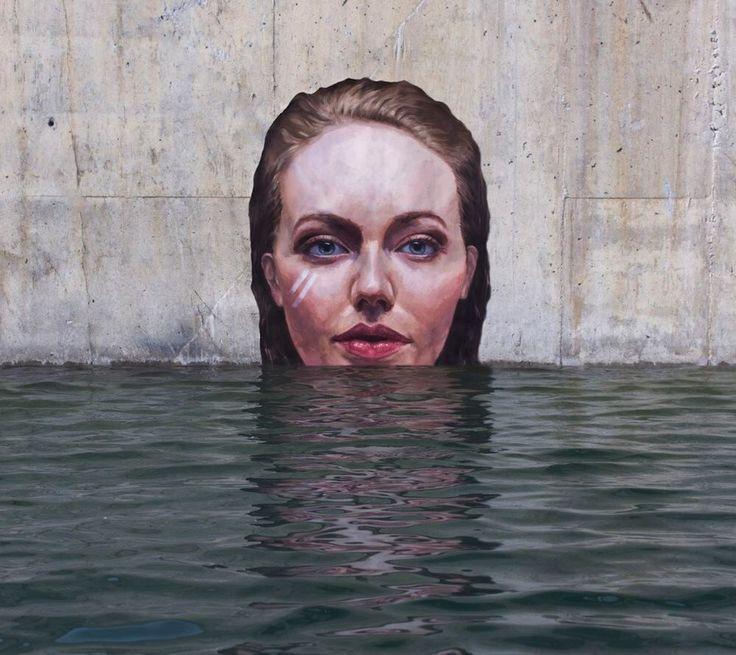 De New Yorkse straat artiest Sean Yoro maakt op z'n surfplank de mooiste kunst!