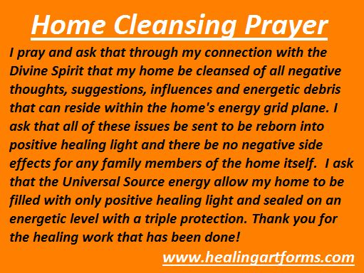 Home Cleansing Prayer Live It Pagan Wiccan Pinterest