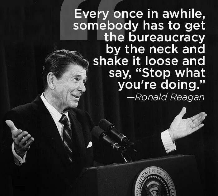Stop what you're doing!  Only wish there was someone in either party that would be willing and able to be another Ronald Reagan!  We so need help!