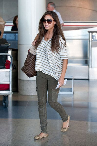 Vanessa Lachey Photo - Vanessa Minnillo at lAX