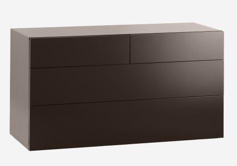 PEROUSE Commode laquée 4 tiroirs Habitat prix soldes Habitat 598.50 € au lieu de 950 €