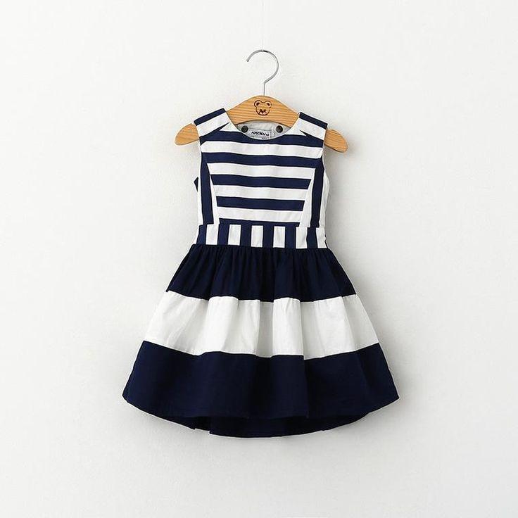 Addison Stripe Dress