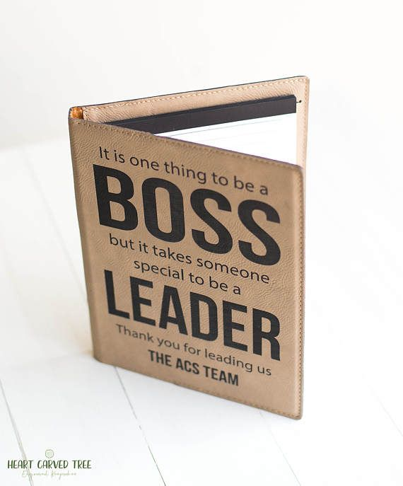 Boss Gift, Personalized Leadership Gift, Thank You Appreciation Boss, Manager Gift, Gift from Team, Cubicle, Office Manager, Promotional