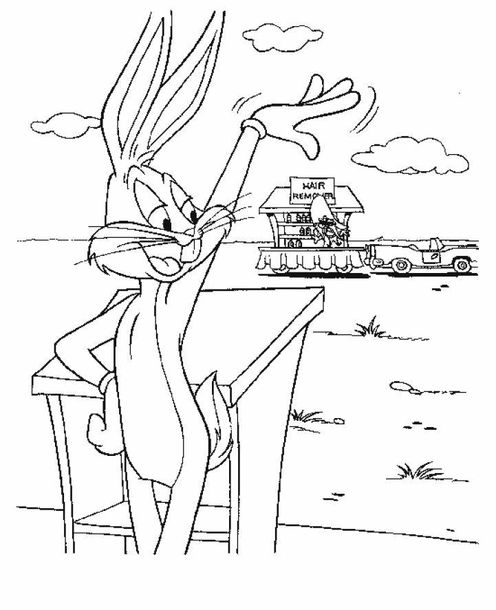 Dibujos para Colorear Bugs Bunny 22