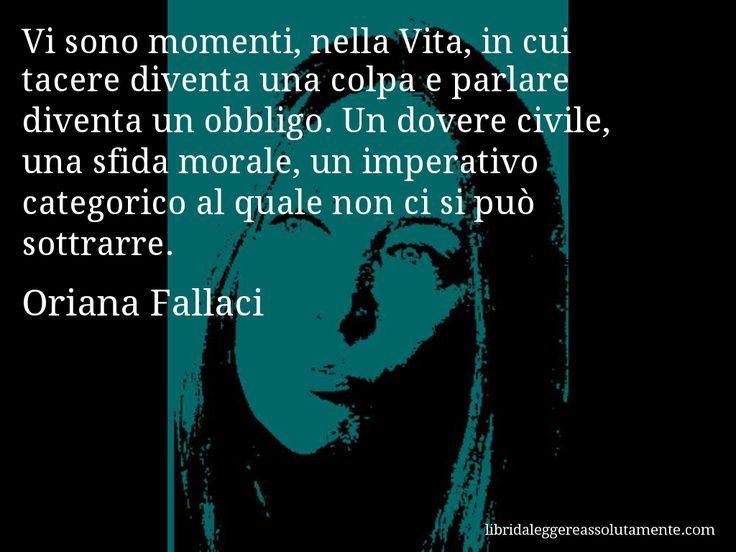 Cartolina con aforisma di Oriana Fallaci (23)