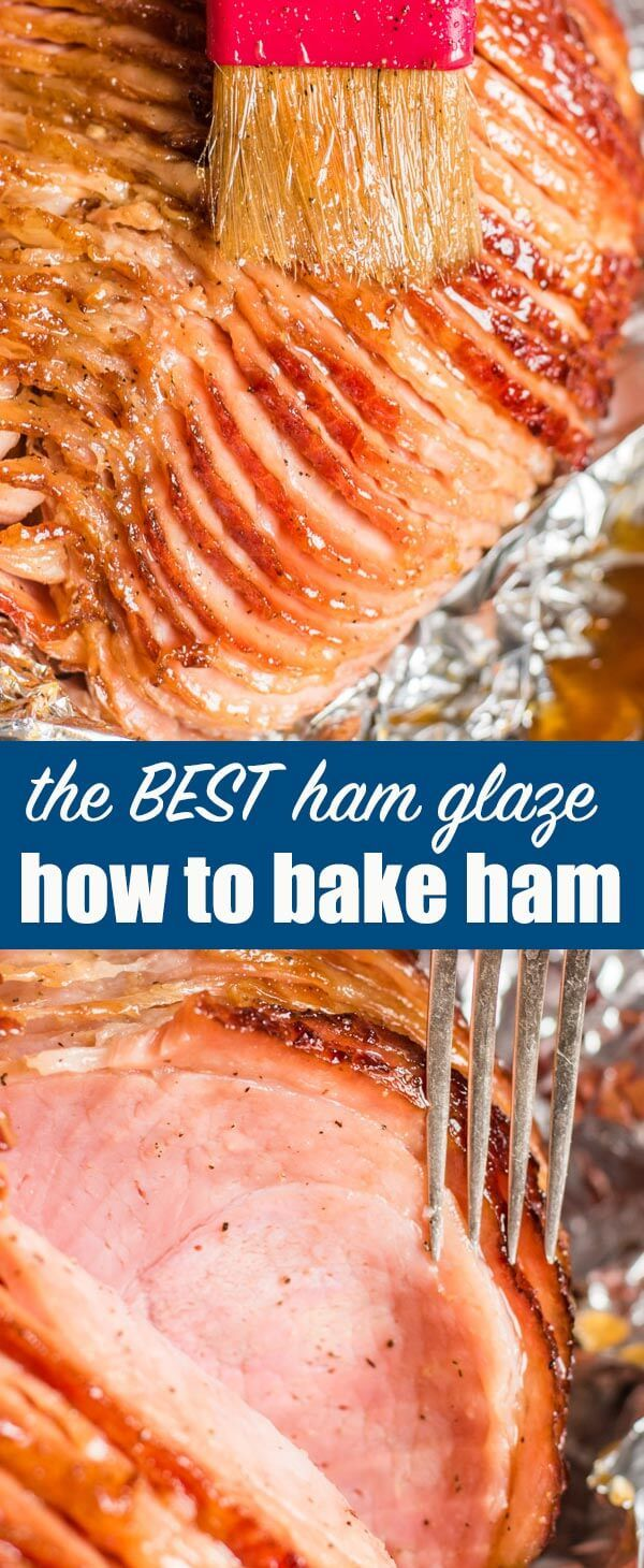 HOW to COOK HONEY GLAZED HAM - Everything you need to know about how to cook a ham for your holiday dinner. Start with a spiralized ham and make a homemade honey ham glaze for a deliciously flavorful tender & juicy ham