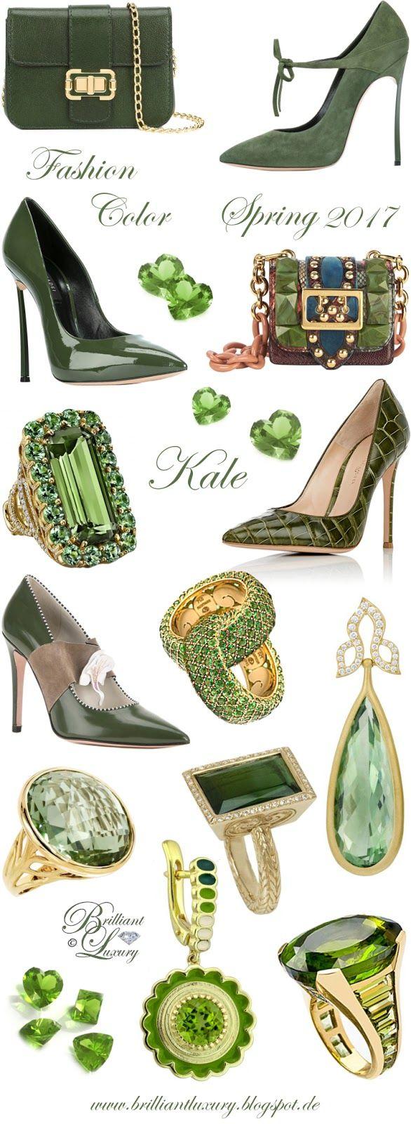 Brilliant Luxury by Emmy DE ♦ Fashion Color Spring 2017 ~ kale