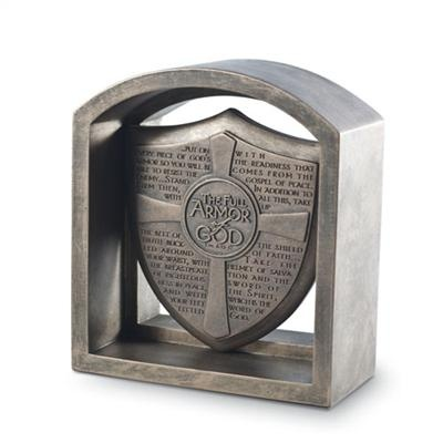 Bookend Plaque - Armor Of God