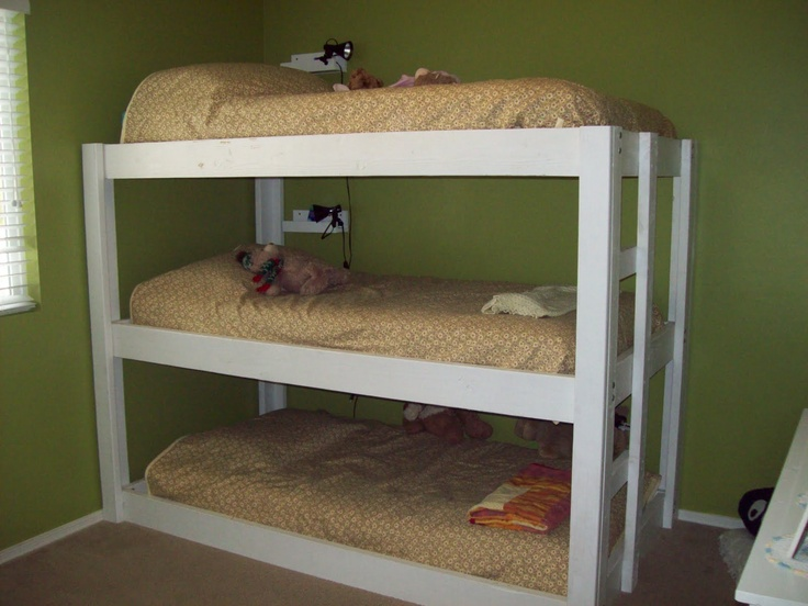 Triple Bunk Beds Space Saving And No Spot For Dust