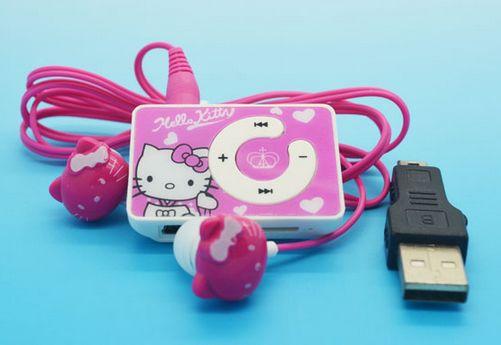 Hello Kitty Mp3 Player Matching Headphones