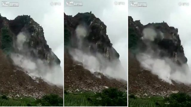 Saturday, Sep. 02, 2017: Reader Fabien has kindly pointed out to me that Liveleak has new footage of the Zhangjiawan rockslide in Guizhou Province in China, which killed 26 people and left a further nine missing and presumed…