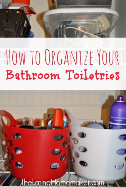 How To Organize Your Bathroom Toiletries Plus Free Labels Good Ideas Facts And Hacks