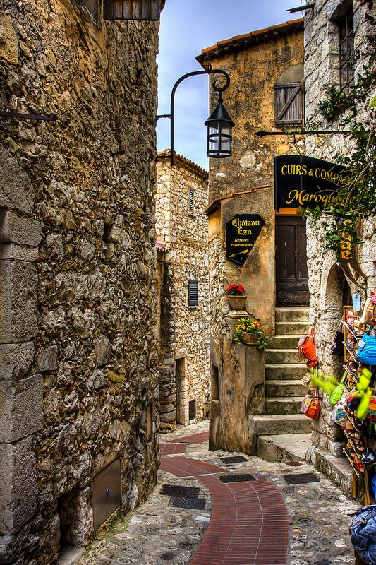 Eze, France: can't believe I'll be in this magical town next week!