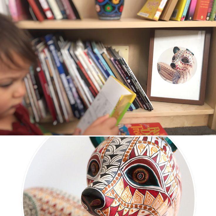 Mexican prints Kids Rooms - Ferret Alebrije