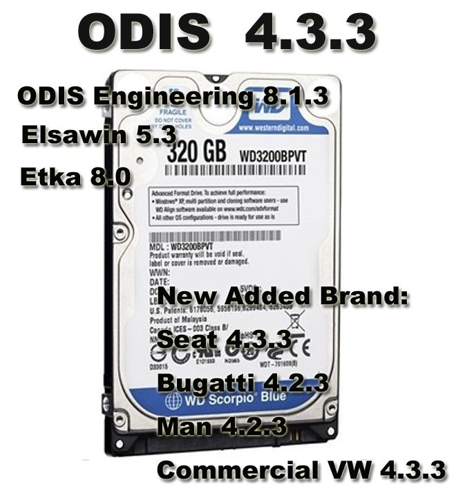5 in 1 ODIS 4 3 3 Download Software With ODIS Engineering 8 1 3