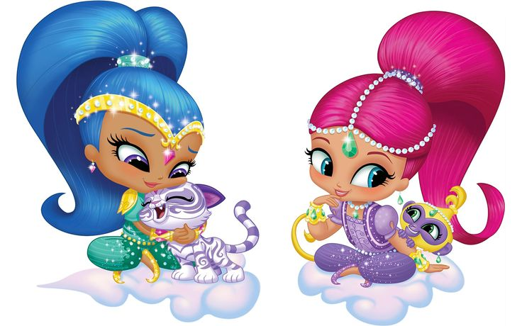 Shimmer e Shine sono due gemelle 'geniali', divertenti, buffe e un po' pasticcione che stanno 'imparando' a diventare dei piccoli geni (sì proprio quel