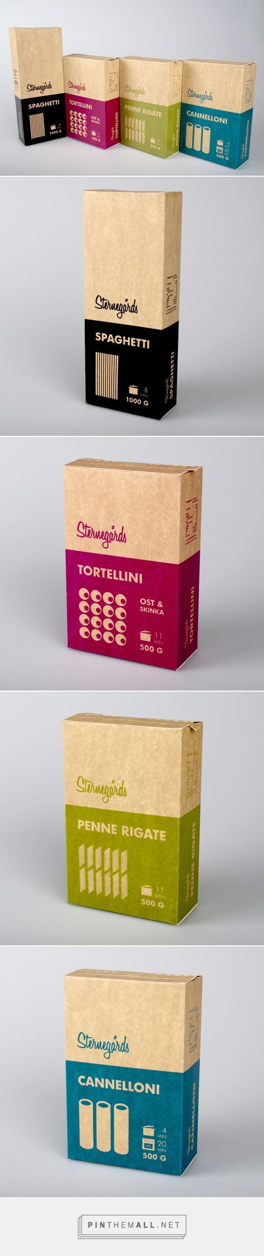 Pasta Packaging Design Curated by Little Buddha | proof that good design can make anything more beautiful