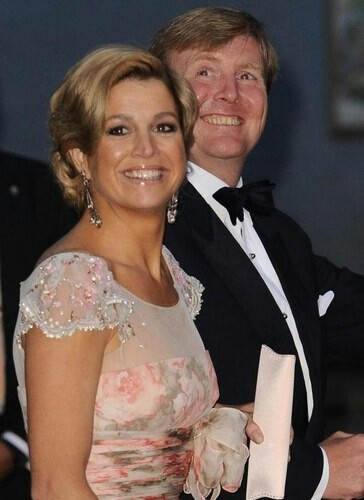 Queen Maxima and King Willem