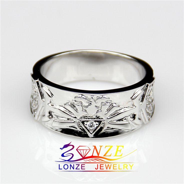 Анель Zelda Masculino - о Zelda игры мужчины обручальное кольцо ASCD имитация алмаз обручальное кольцо диапазона для мужчин