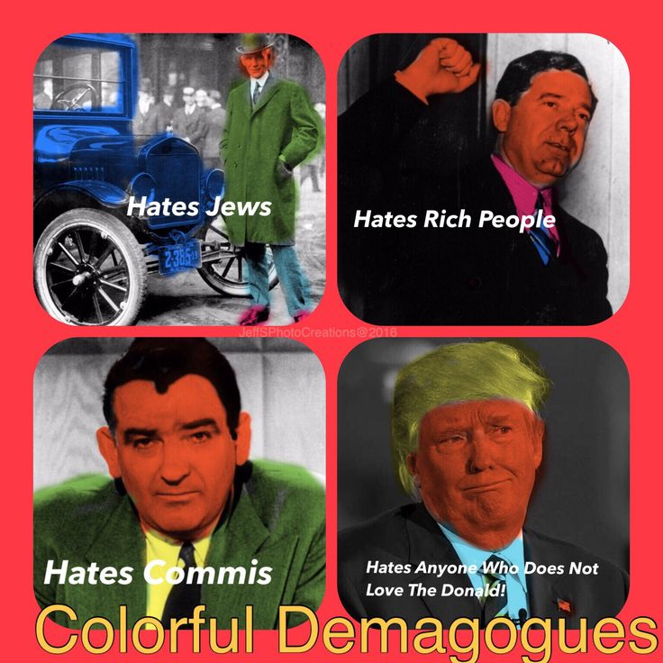 Colorful American Demagogues