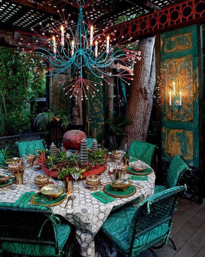 Motivating Bohemian Decorating Ideas For Living Ro…