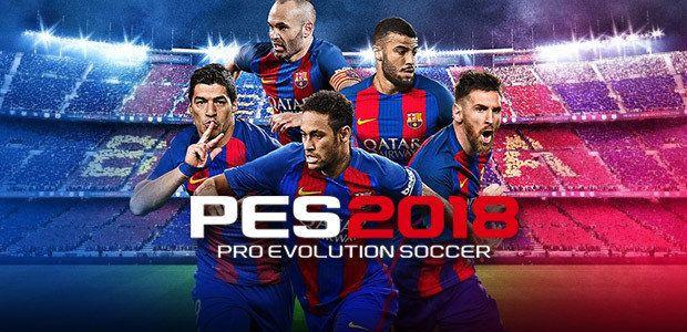 Download Pro Evolution Soccer 2018 (PES 18) ISO PPSSPP for