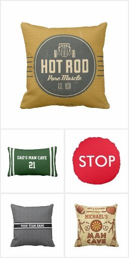 BestSelling Man Cave Pillows on Zazzle. These funny pillows and cushions are a great gift for you father, husband, boyfriend or best friend. There are many designs available on Zazzle that you can customize. I found these ones awesome as a gift for the man cave! There are many more designs available on: http://www.zazzle.com/collections/bestselling_man_cave_pillows_on_zazzle-119481426955424619