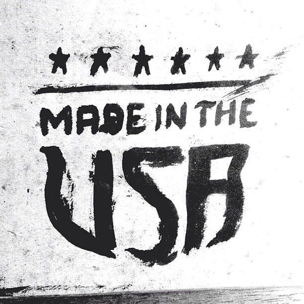 Made in the USA Tattoo idea