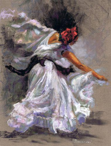 'GUAPPA' - Pastel, by Jane Romanishko