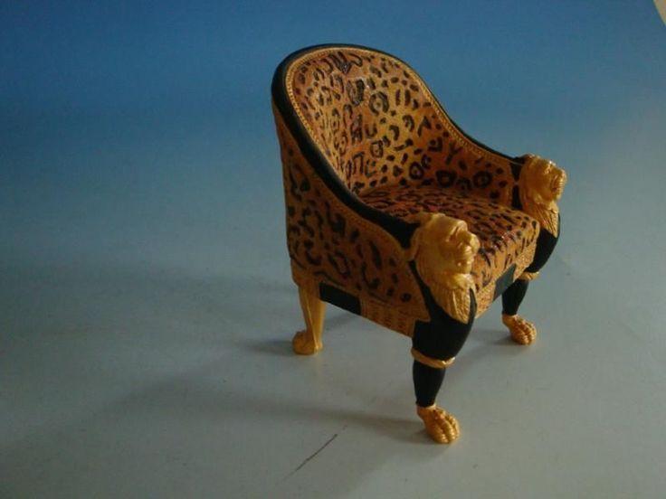 0115AK-074: Rainer Design Deko Stuhl Leopard   eBay