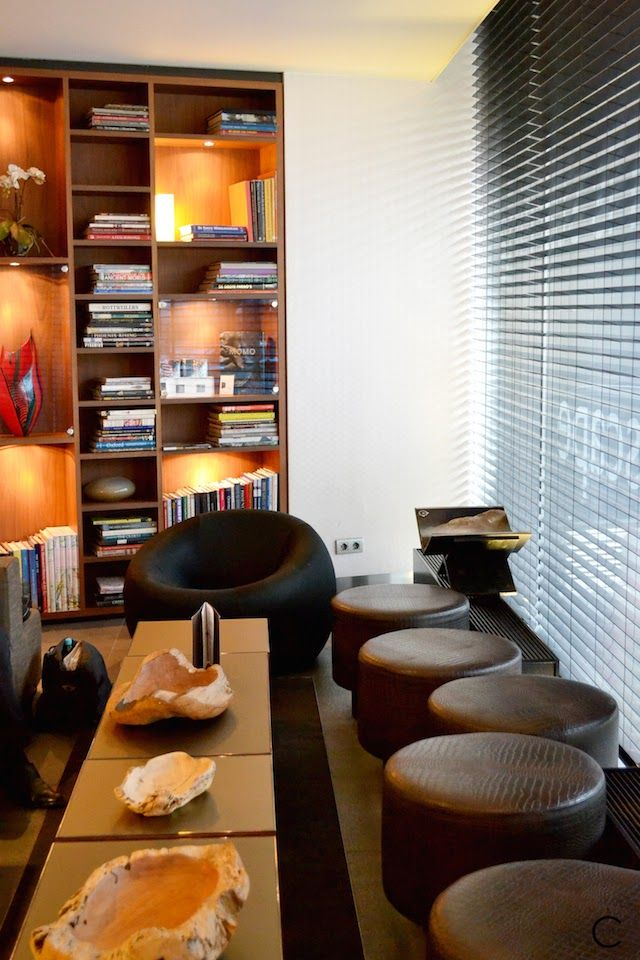 Park Hotel Amsterdam | Design | Luxury | Interior | Egg Chair | by C-More interior blog
