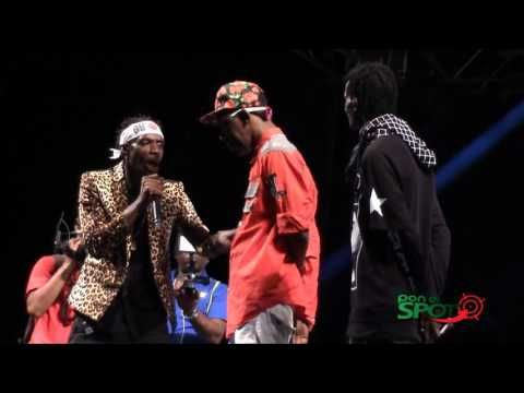 Gully Bop And Ninja Man VS Merciless at Ghetto Splash 2015 - #THISIS80