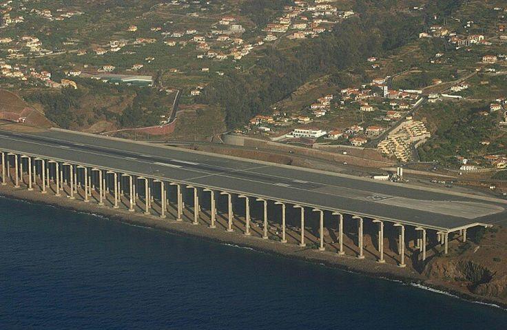 Aeropuerto internacional de Madeira (prolongación pista aterrizaje)