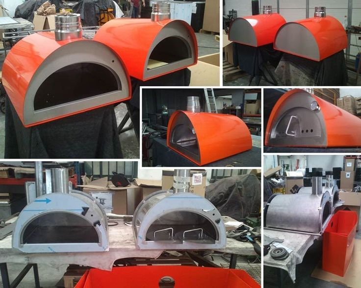 Portable pizza oven - wood fired pizza oven