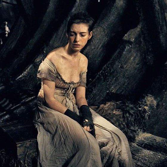 Les Miserables- The movie! Anne Hathaway, Hugh Jackman, Russell Crowe, Amanda Seyfried. Amazing :)
