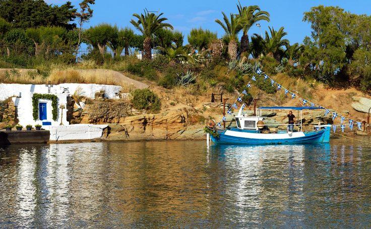 Plan a picturesque wedding at picturesque Agia Pelagia in Crete.