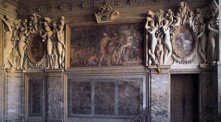 Royal Staircase - detail 3 by Francesco Primaticcio