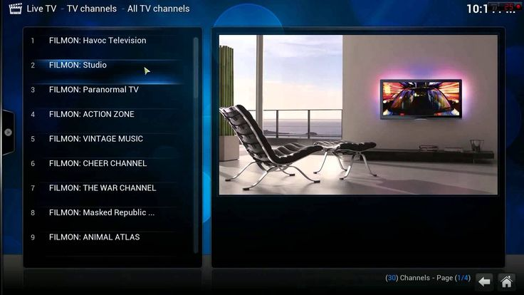 How to set up Xbmc Live tv Free+++Free M3U playlist!!!!Step by step