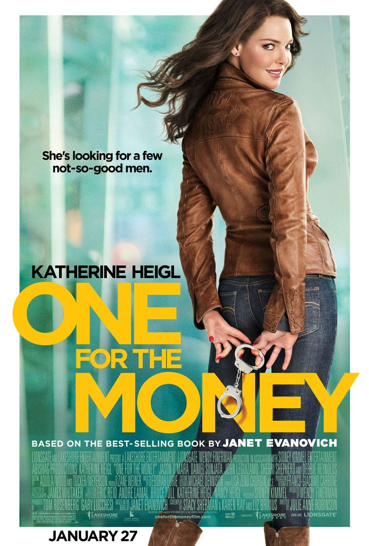 One For the Money , starring Katherine Heigl, Jason O'Mara, Daniel Sunjata, John Leguizamo. Unemployed and newly-divorced Stephanie Plum lands a job at her cousin's bail-bond business, where her first assignment puts her on the trail of a wanted local cop from her romantic past. #Action #Comedy #Crime #Romance #Thriller