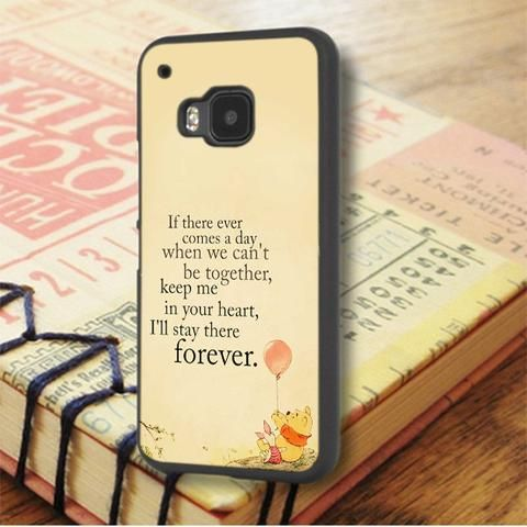 Winnie The Pooh Quote HTC One M9 Case