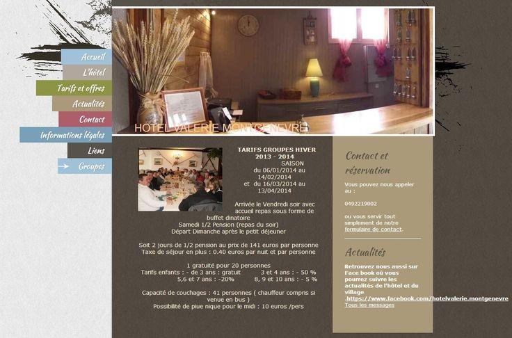 Accueil de groupes : http://www.hotel-montgenevre.com/