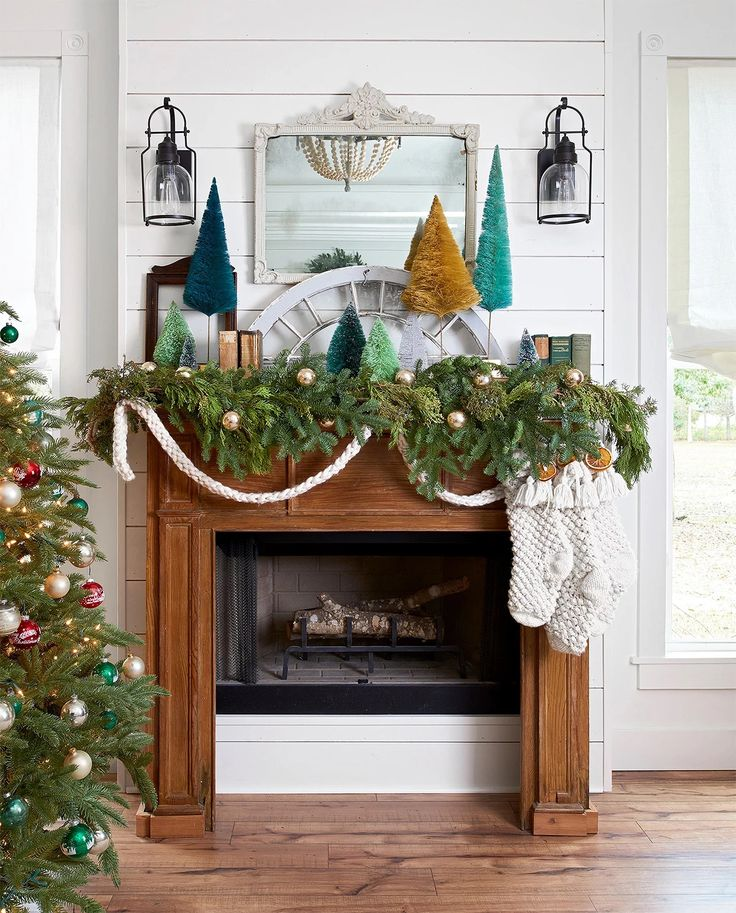 45 Elegant and Cozy Fireplace Mantel Decorating Ideas