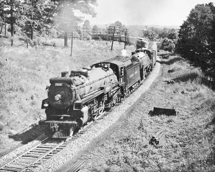 Image result for canadian pacific k1a freight train