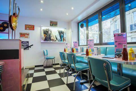 HD Diner Saint Michel - Restaurant américain