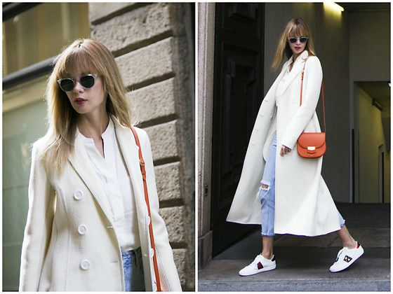 Get this look: http://lb.nu/look/8548435  More looks by Anastasiia Masiutkina: http://lb.nu/anastasiiamas  Items in this look:  Celine Coat, H&M Jeans, Gucci Sneakers, Celine Bag   #casual #street #anastasiiamasiutkina #eatdresstravel #fashioninfluencer #fashion #streetstyle #celine #gucci